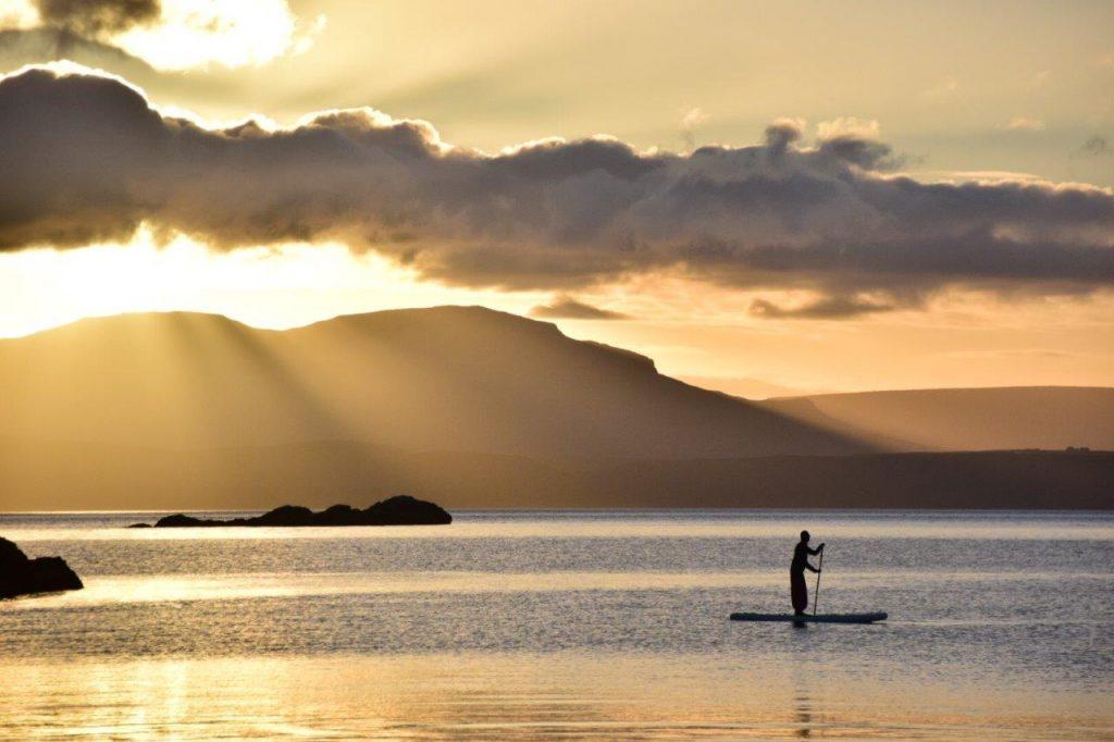 Paddleboarding Skye